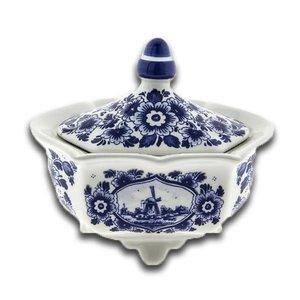 Typisch Hollands Chocolade Pot Delft blauw