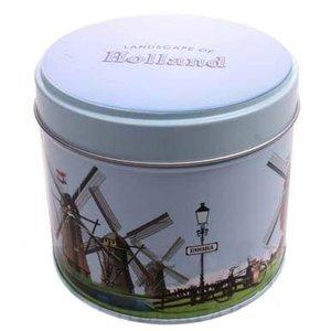 Stroopwafels (Typisch Hollands) Stroopwafels in blik - Kinderdijk - Molens