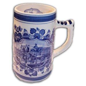 Typisch Hollands Bierpul Delfts Blauw