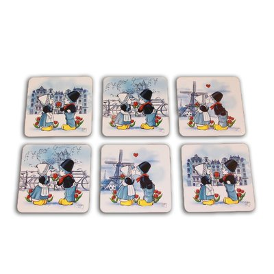 Typisch Hollands Coasters Holland - Kissing Couple