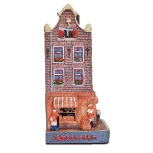 Typisch Hollands Hausfassade Elandsgracht