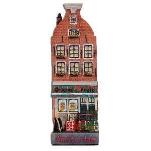 Typisch Hollands Groentezaak Fassade Haus