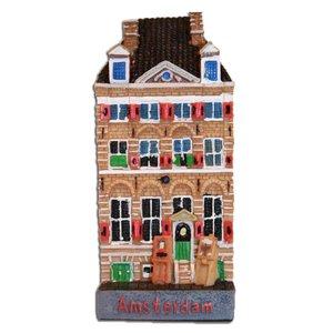 Typisch Hollands Attelier große Fassade Haus