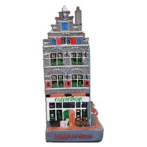 Typisch Hollands Coffeeshop - Fassade Haus