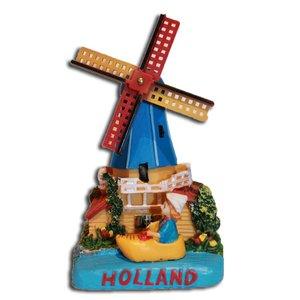 Typisch Hollands Holland Szene Poldermolen