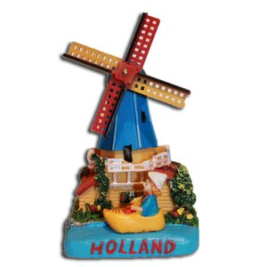 Typisch Hollands Holland tafereel Poldermolen