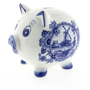 Typisch Hollands Piggy Bank - Delfter