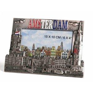 Typisch Hollands Fotolijst brons Amsterdam