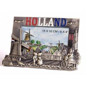 Typisch Hollands Fotolijst - Brons Holland