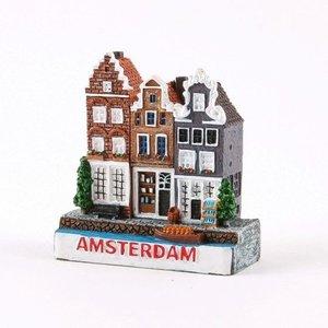 Typisch Hollands Miniatur-Magnet Amsterdam