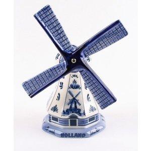 Typisch Hollands Poldermolen Delft Blue 11 cm