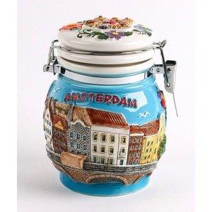 Typisch Hollands Bwaarpot with lid