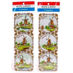 Typisch Hollands Untersetzer Polyhrome