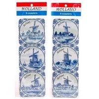 Typisch Hollands Onderzetters Delfts Blauw