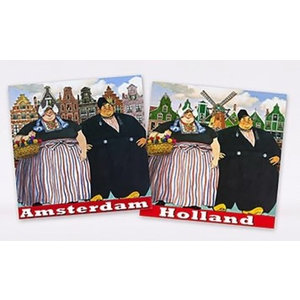 Typisch Hollands Servietten Ländliche Paare