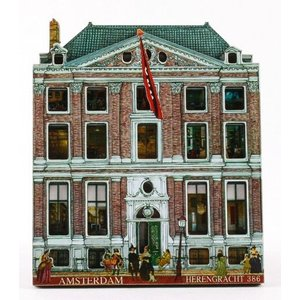 Magneet Grachtenhuisje Amsterdam