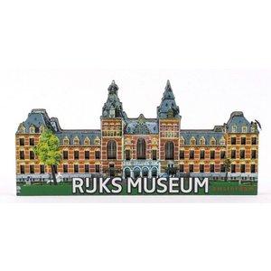 Typisch Hollands Magnet Rijksmuseum Amsterdam