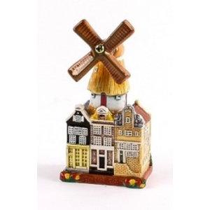 Typisch Hollands Stadsmolen - Ceramics - Color