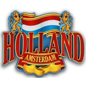 Typisch Hollands Magnet Holland - Amsterdam