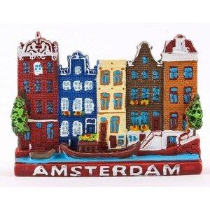 Typisch Hollands Magnet Amsterdam - Farbe