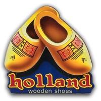 Typisch Hollands Magneet Holland - Klompen