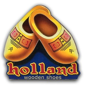 Typisch Hollands Magnet Hoplland - Clogs