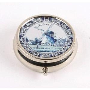 Typisch Hollands Pillbox Holland Delft Blau