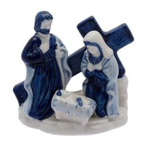 Typisch Hollands Holy Family met Kruis