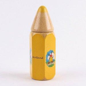 Typisch Hollands Crayons in Big Bleistift - gelb