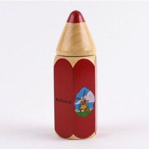 Typisch Hollands Crayons in Big Bleistift - Rot