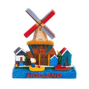 Typisch Hollands Magnet Windmill - Holland - Clog