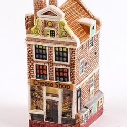 Facade houses ceramic