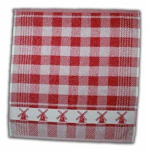 Typisch Hollands Kitchen towel Red - Mills