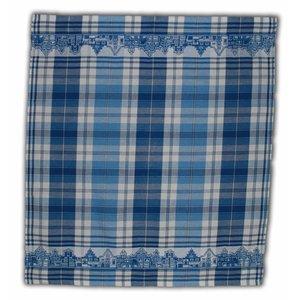 Typisch Hollands Tea towel Blue - White