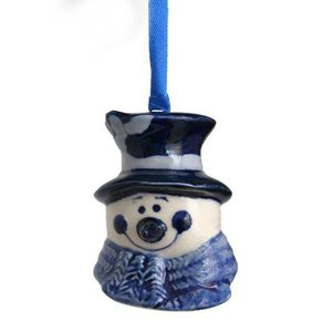 Typisch Hollands Tree pendant - Snowman