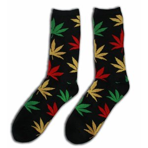 Robin Ruth Fashion Herrensocken - Cannabis