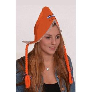 Typisch Hollands Hul - Oranje - Vlechten
