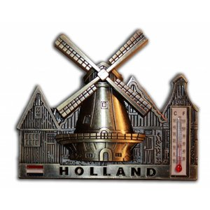 Typisch Hollands Magnet - Bronze - Holland
