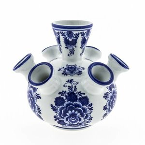 Typisch Hollands Tulipvase duced Delftware