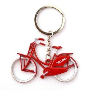 Typisch Hollands Keychain Bike - Red