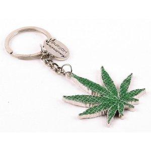 Typisch Hollands Schlüsselanhänger Cannabis