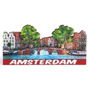 Typisch Hollands Magnet 2D Compilation Brücke Amsterdam