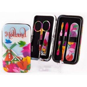 Typisch Hollands Manicure Set Tulips
