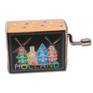 Typisch Hollands Muziekdoosje - Holland