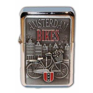 Typisch Hollands Zipper Petrol lighter - Amsterdam - Bikes