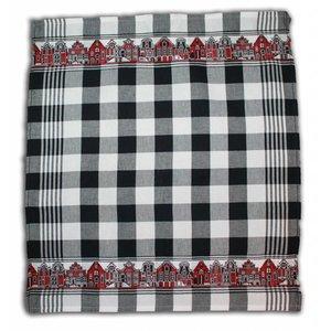 Typisch Hollands Tea Towel Black White - Cheap