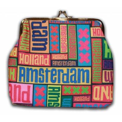 Typisch Hollands Portemonnee Amsterdam - Holland - Groot