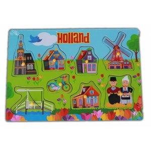 Typisch Hollands Kinderpuzzel Holland Village