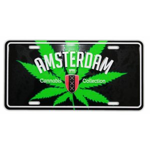 Typisch Hollands Amsterdam Cannabis Platte