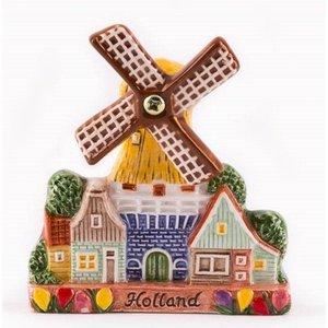 Typisch Hollands Magnet Keramik - Stellingmolen